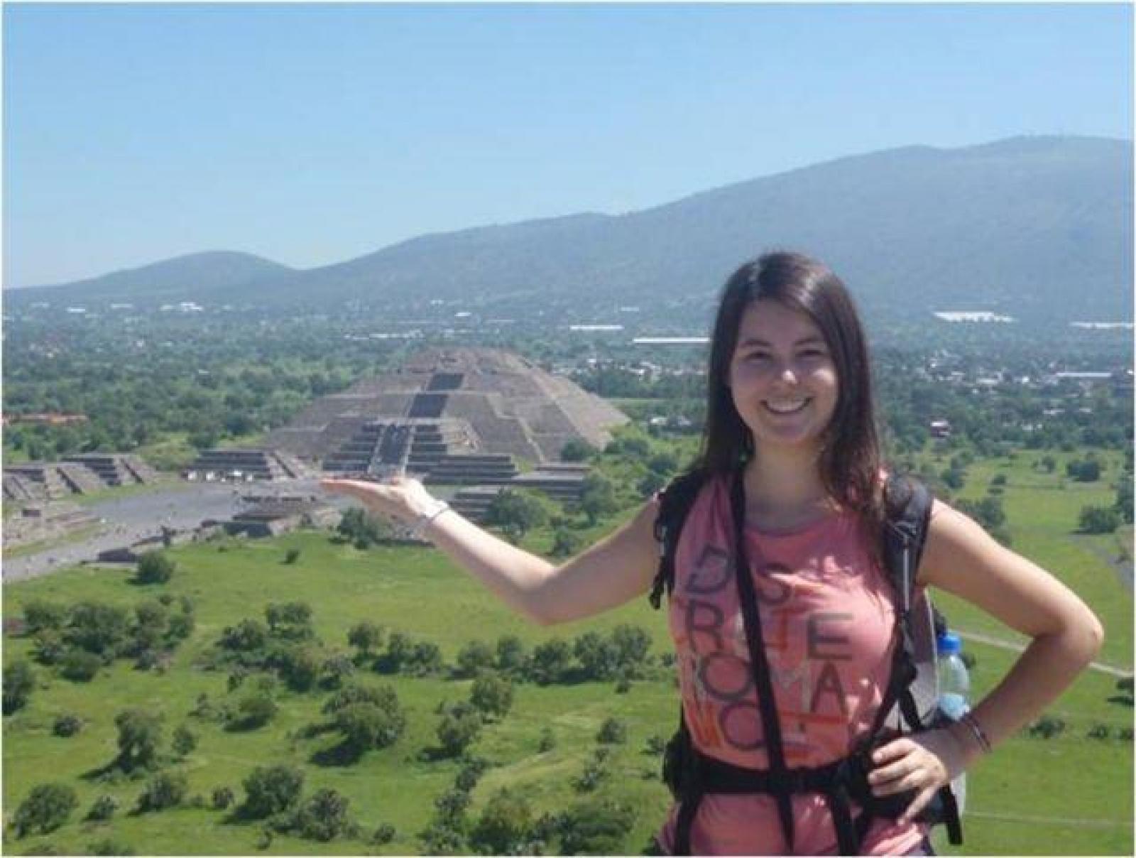 Elina D au Mexique